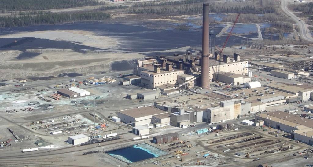 Figure 20.4 The nickel smelter at Thompson, Manitoba [https://en.wikipedia.org/wiki/Thompson,_Manitoba#/media/File:Vale_Nickel_Mine.JPG]